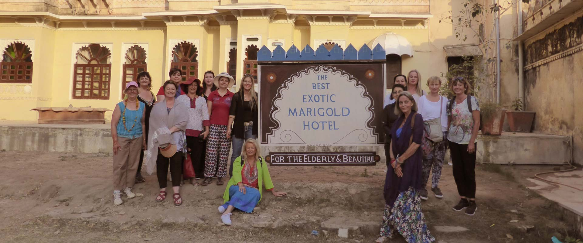 Exotic Marigold Hotel and Udaipur Short Stay