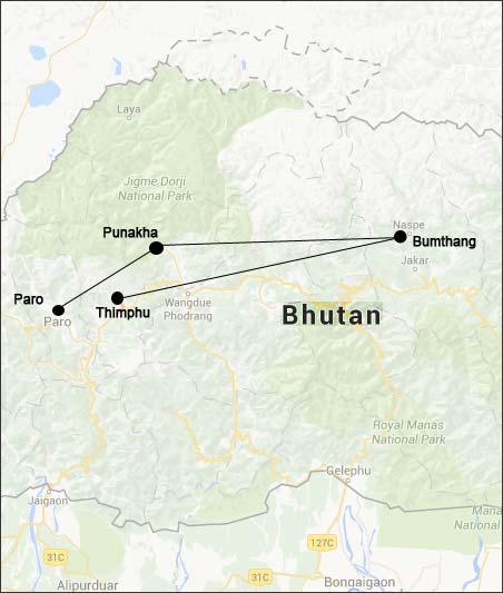 Festival tour of Paro - Bhutan