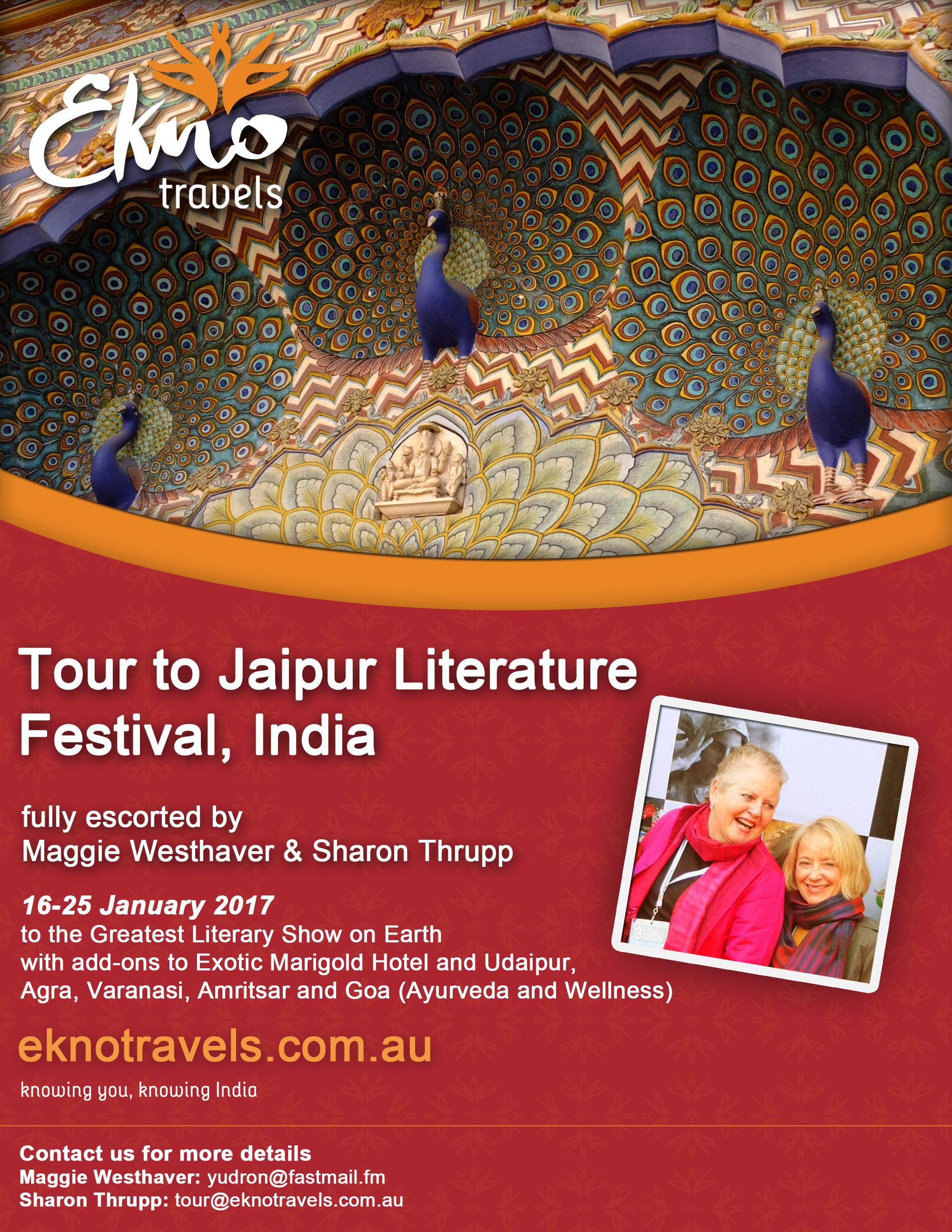 Jaipur Literature Festival Poster
