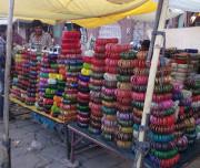 Local Bangles Market in Jodhpur
