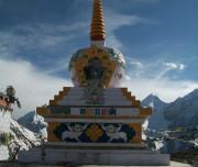 Stupa at Kunzum Pass