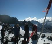 Thamsar Pass top