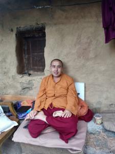 Meditator Monk