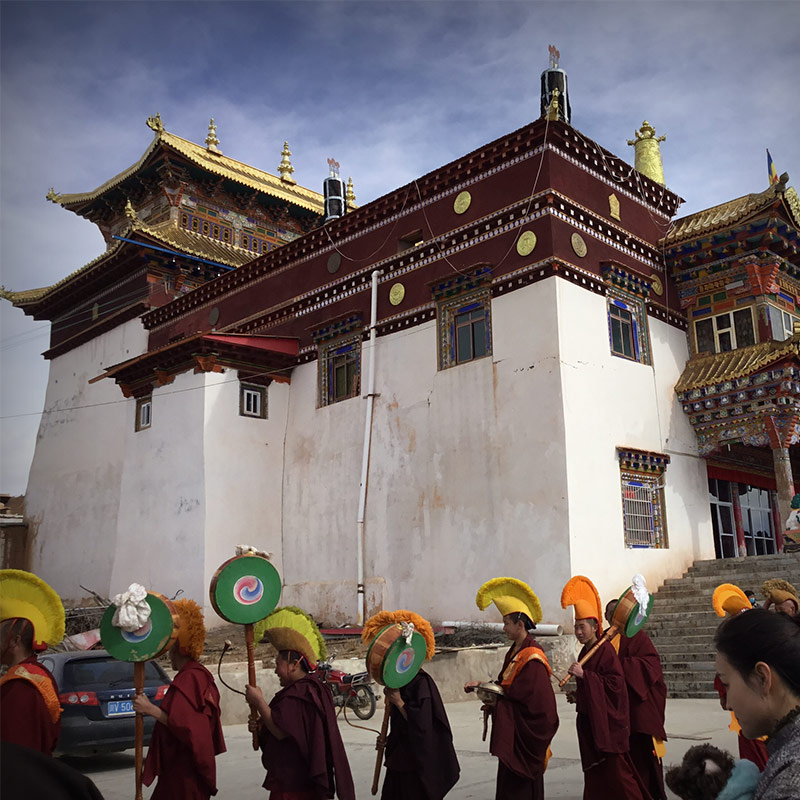 Tibet-Monastery